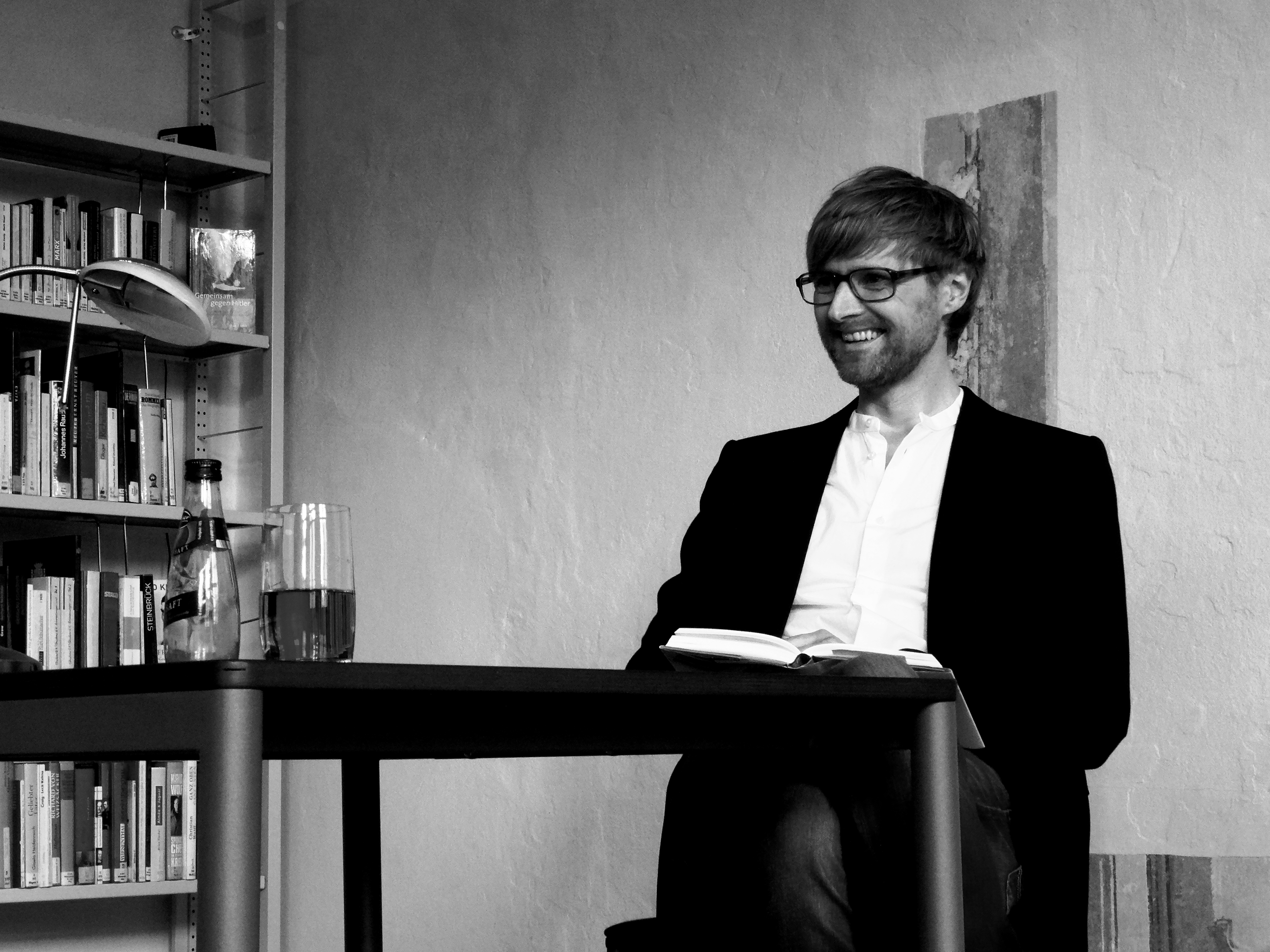 Tag der Kriegsenkel (II): Matthias Lohre liest zum Elbe Day in Torgau