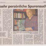 """""""Eine sehr persönliche Spurensuche"""" / DER WECKER Leer, 18./19. März 2017"""