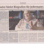 """""""Biografien für Jedermann"""" / Emsland-Kurier, 4. Juni 2017"""