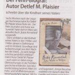"""Der Fehn-Biograf"" / LeserEcho, Ausgabe Emsland-Nord, Juni 2017"